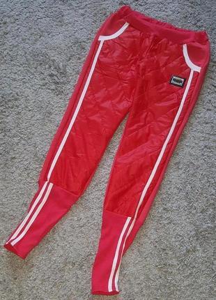Новые,теплые,спортивные,яркие брюки