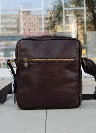Мужская сумка мессенджер италия натуральная кожа