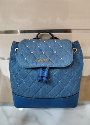 Guess женский синий рюкзак сумка