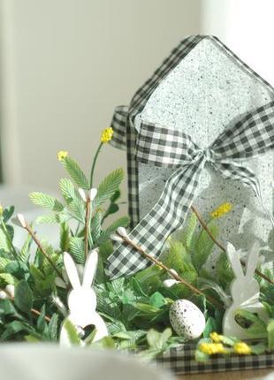 Декор для дома.композиция на стол,ночник, пасхальный декор