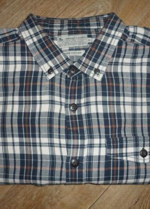Рубашка в клетку xl