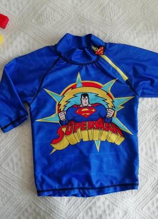 Костюм пляжный (верх), гидрокостюм superman