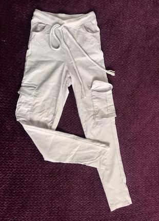 Повседневные штаны, брюки с карманами