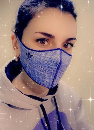 Многоразовая защитная маска питта неопрен