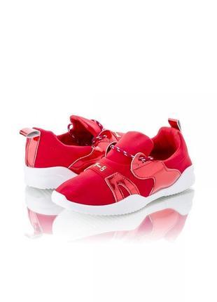 Крассные кроссовки кеды мокасины слипоны