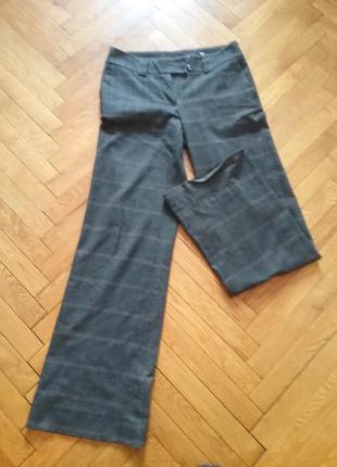 Классические брюки в клетку 36 размер