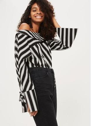 Бомбезная рубашка блуза topshop