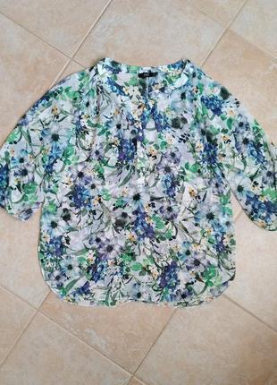 Легкая невесомая блузка, рубашка f&f