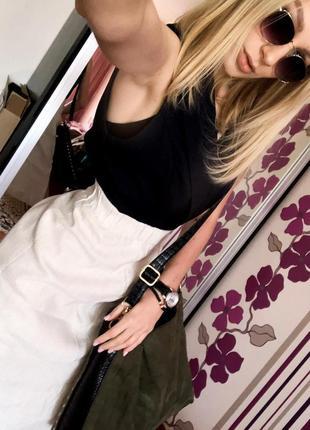 Супер юбка лен