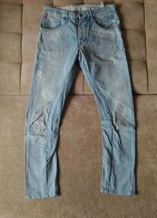 Рваные джинсы- бойфренды jack jones, р.312 фото