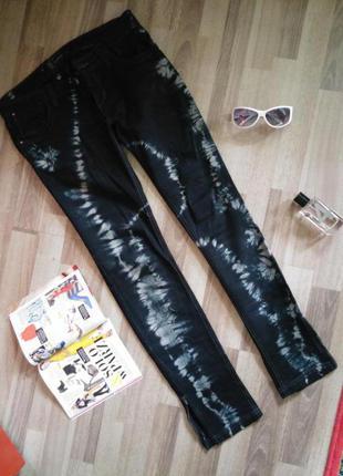 Штани reserved брюки чорні черные джинси бренд польща польша