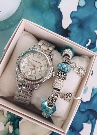 Премиум комплект часы и браслет