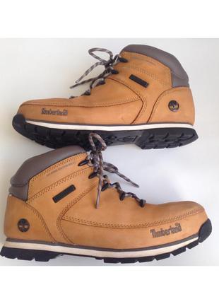 Ботинки timberland рыжие оригинал натуральный нубук