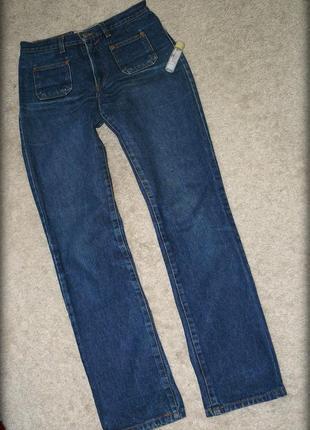 Итальянские джинсы мом с высокой посадкой  🇮🇹