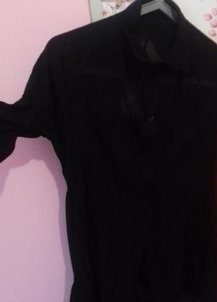 Рубашка необычного покроя размер s-m