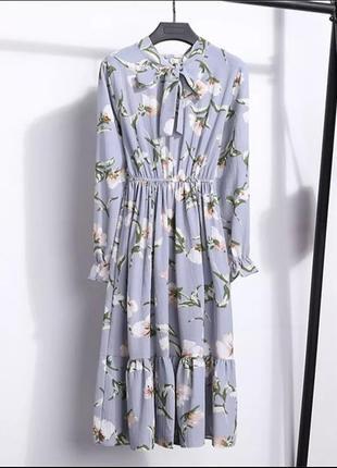 Акция последний размер. продам очень красивое нежное, легкое платье