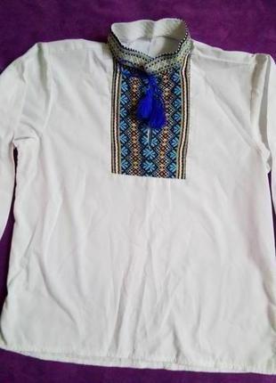 Рубашка -вышиванка на мальчика