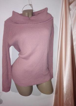 Замечательный новый свитер * boohoo*пыльная роза*размер m/l-xl