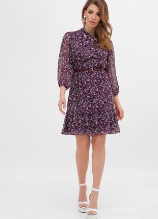 🔥new🔥воздушное платье с цветами