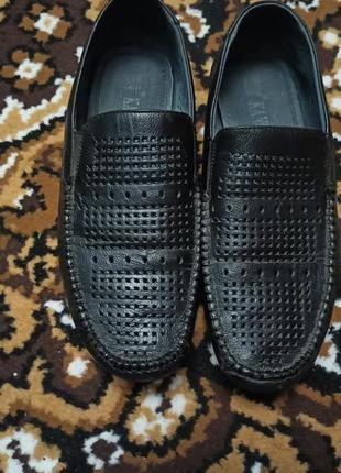 Туфли на подростка кожаные