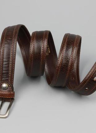 Итальянский кожаный ремень