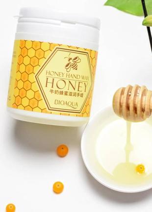 Маска для рук bioaqua парафиновая с экстрактом меда