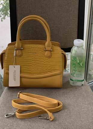 David jones сумка женская эко-кожа
