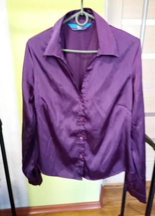 Стильная блуза рубашка u. k london  р. 40-42