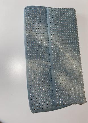Джинсовый клатч2 фото