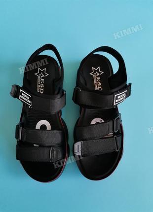🖤 женские спортивные босоножки сандалии4 фото