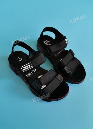 🖤 женские спортивные босоножки сандалии1 фото
