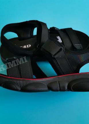 🖤 женские спортивные босоножки сандалии7 фото
