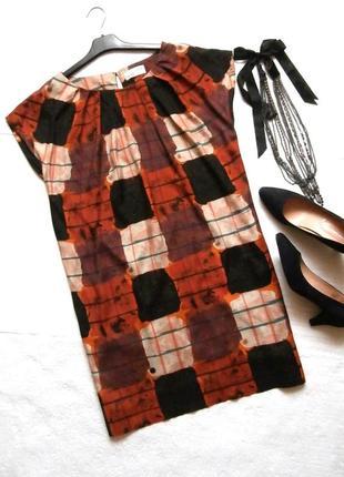 Интересное летнее платье esprit из натуральной ткани