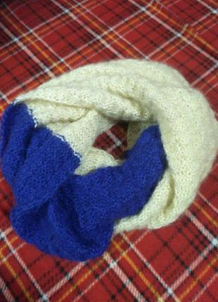 Снуд шарф