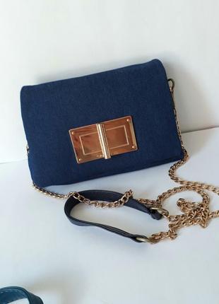Джинсовый клатч, джинсовая сумка1 фото