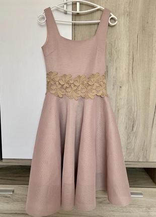 Сукня ніжно рожева, розмір s