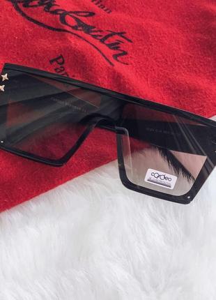 Солнцезащитные очки маска burberry