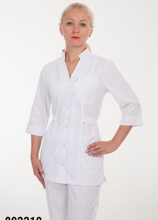 Белый костюм медицинский, батист, р. 42-60; женская медицинская одежда, 892210