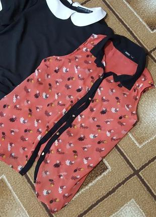 Шифоновая блузка oasis