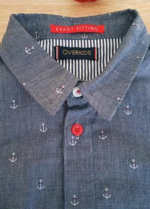 Модняча сорочка з італії overkids