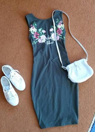 Красивейшее платье, летнее платье, платье-майка