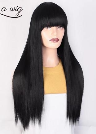 Парик, парик длинные волосы, парик с челкой