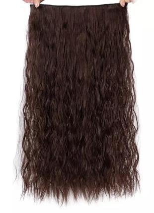 Трессы, трессы на заколках, трессы волнистые волосы