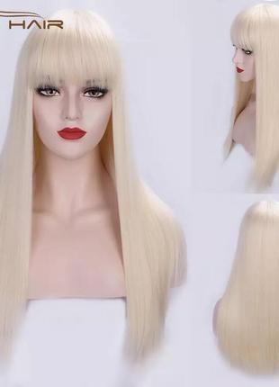 Парик, парик блондинка, парик блондинка длинные волосы
