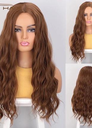 Парик, парик волнистые волосы, парик длинные волосы