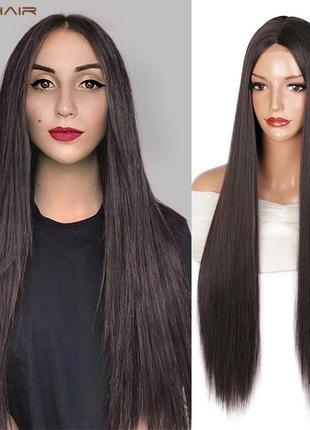 Парик на сетке, парик, парик длинные волосы, парик длинные прямые волосы