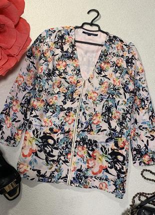 Стильная блуза-кардиган,размер м большимерит