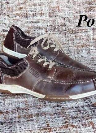 Мужские кожаные туфли riker