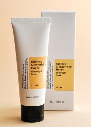 Медовая ночная увлажняющая маска cosrx ultimate moisturizing honey overnight mask