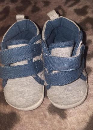 Легесенькі літні тканинні кросовочки для малечі